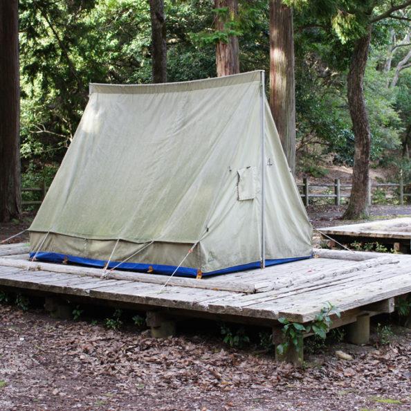 テントのレンタル