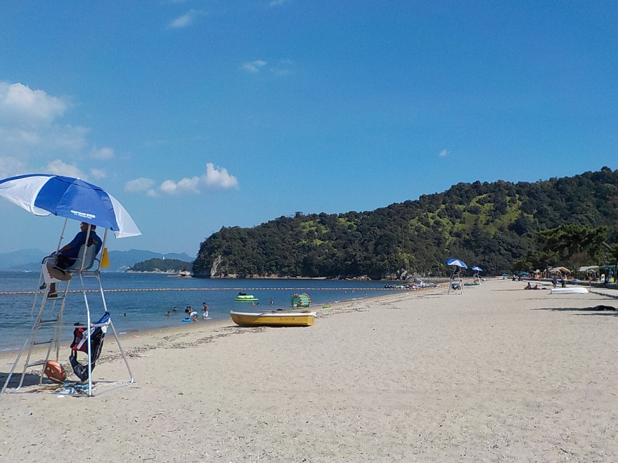 2020年宮島包ヶ浦自然公園の海開き
